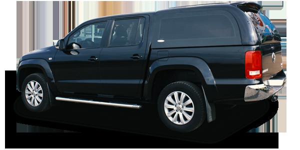 Capota de fibra para VW Amarok, capota de fibra tobogã e Capota de fibra carga alta com duas portas