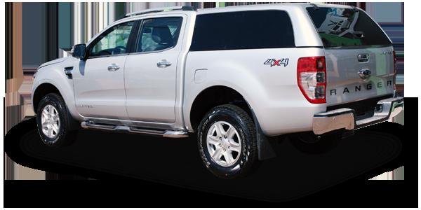 Capota de Fibra para Ford Ranger, capota em fibra de vidro para ranger, capota para ranger. Capota carga alta para Ranger