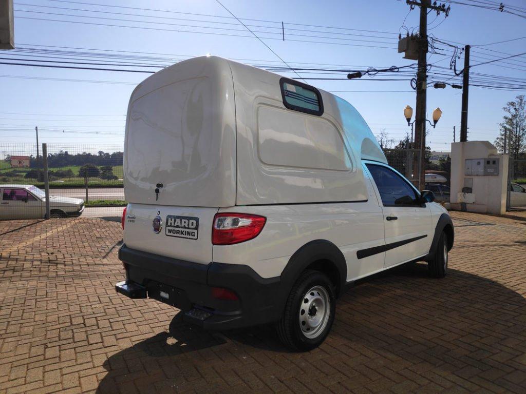 Capota de fibra carga meia tampa para Fiat Strada